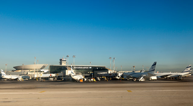 Ben Gurion Airport (IATA: TLV) is the main airport of Israel.